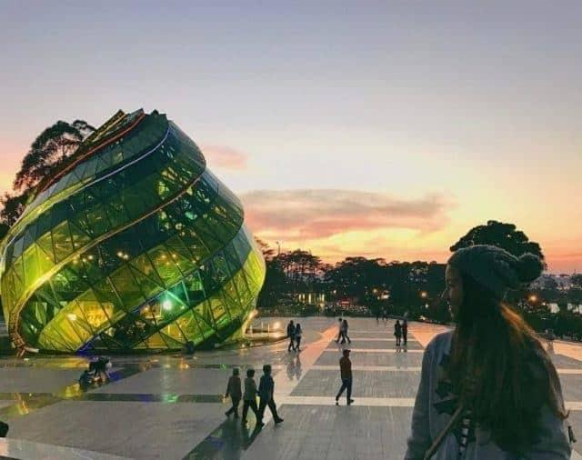 Diện tích của quảng trường Lâm Viên Đà Lạt lên tới 72.000m2