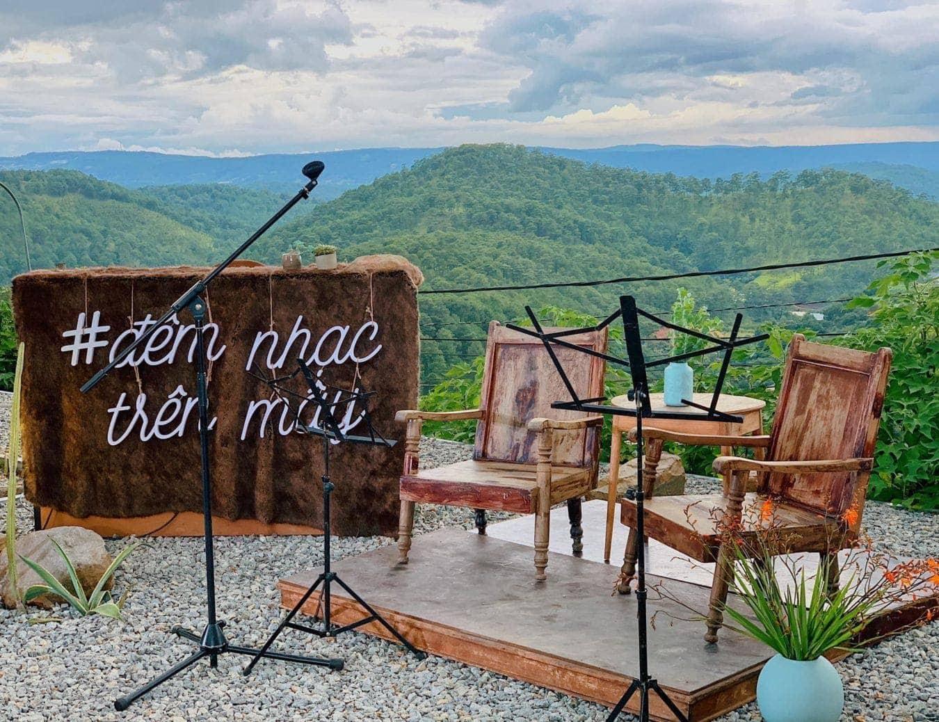 Quán cafe Mây Lang Thang